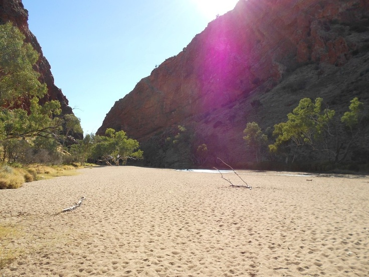 Simpsons Gap / Alice Springs / Australia