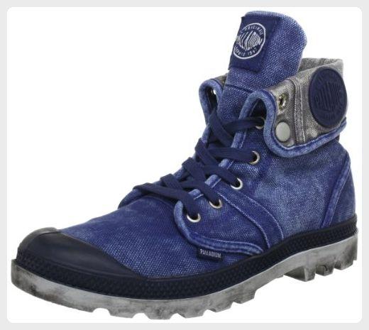 Palladium Men's Pallabrouse Baggy Boot,Navy,10 M US
