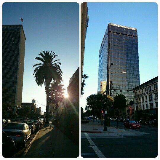 #happy #sunset #sandiego #california #palm #street #downtown