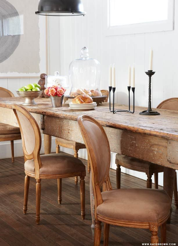 13 best images about Rustic dining room tables on Pinterest