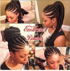ghana braids, ghana braids with updo, straight up braids, braids hairstyles for black girls, braids for black women, braided hairstyles for black women, braided styles for black women, ghana braids, updo bun with ghana braids, ghana braids with ponytail, ghana braids miami, jumbo ghana braids, ghana braids price, ghana braids pinterest, ghana braids tutorial, how long do ghana braids last, ghana braids styles, ghanaian braids 2016, big Ghana braids, banana cornrows styles, ghana weave…