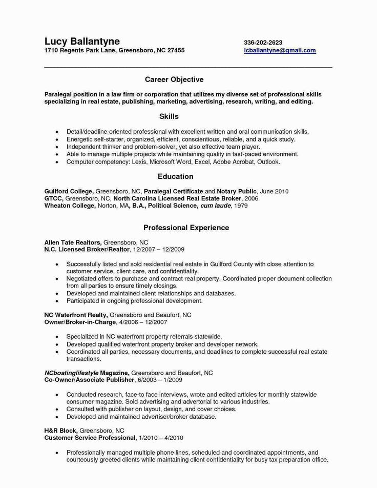26+ Legal Assistant Cover Letter in 2020 Resume examples