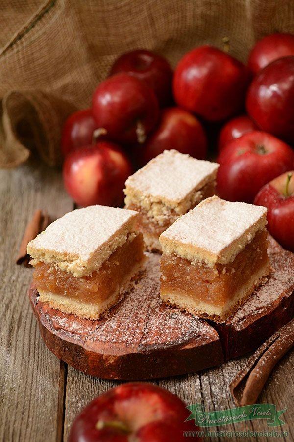Reteta prajitura cu mere si nuci.Ingrediente reteta prajitura cu mere si nuci .Cum pregatim aluatul fraged.Prajitura cu aluat fraged si mere