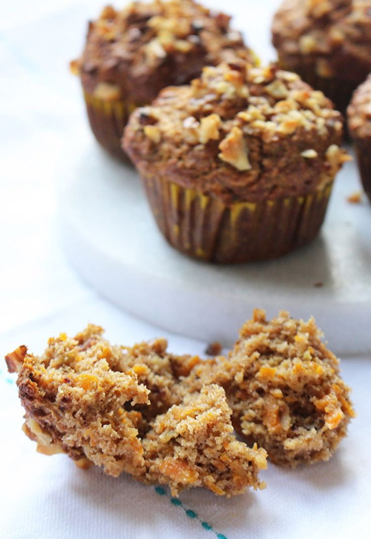 12. Apple and Carrot Muffins #healthy #fruit #recipes http://greatist.com/eat/ripe-fruit-recipes-to-avoid-food-waste