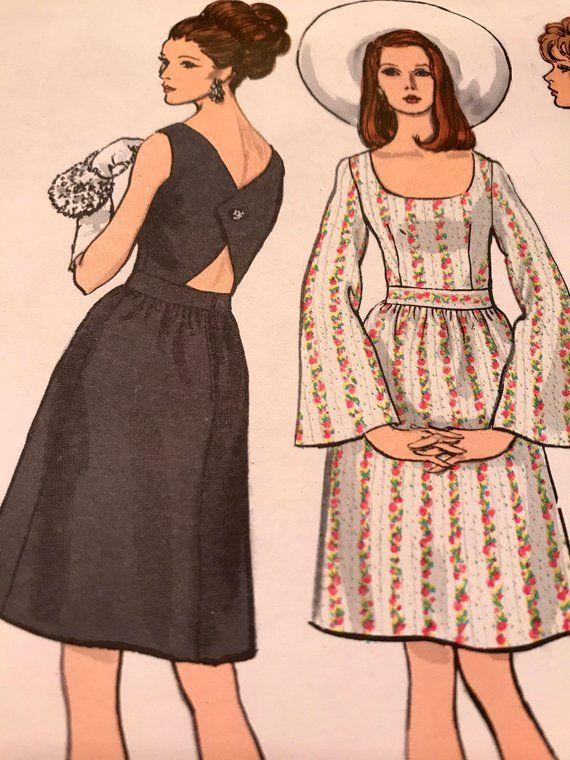 d350b1ba90c Chic Versatile Vogue Basic Design Dress Pattern---Vogue 2118---Size 10 Bust  32 1 2 UNCUT