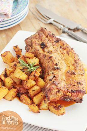 Las costillas al horno con patatas son un plato tradicional. Descubre cómo preparar esta receta fácil, ideal para una cena en familia.
