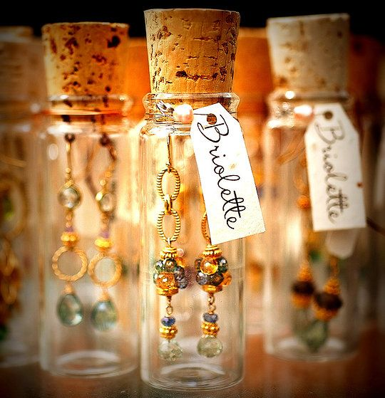 Briolette Jewelry - love the packaging and the jewelry