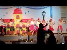 Baile candombe - Acto 25 de mayo 2016 - Natividad del Señor - YouTube