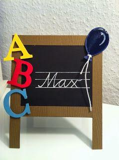 breti68 - Kreativ mit Papier: Tischkarte oder Einladung