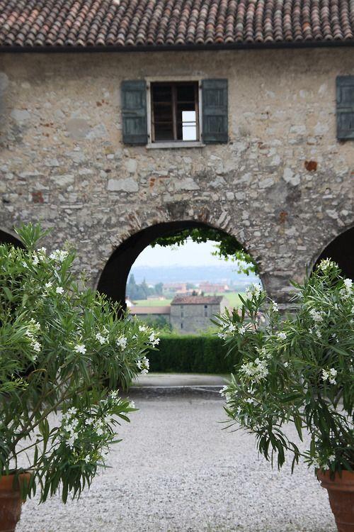 Count Serego Alighieri's home. Valpolicella, Italy.