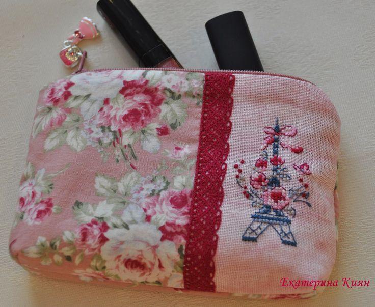 Мой рукодельный рай: Маленькая косметичка для большой сумочки