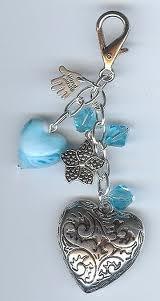 Blue & silver hearts