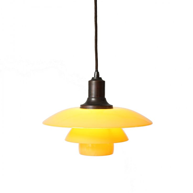 4 pendants PH 3/2½ by Poul Henningsen
