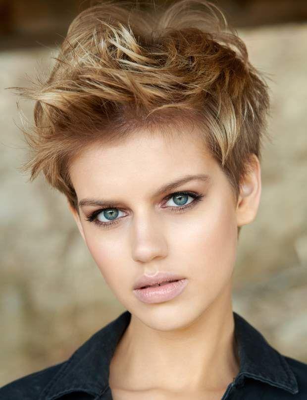 1415 best Cabello corto | Pixie | Bob | Short Hair images on Pinterest | Short hair up, Hair ...