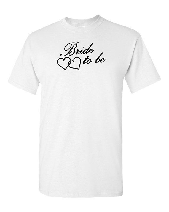 The perfect, fun bridal party t-shirts will make your event a smash!