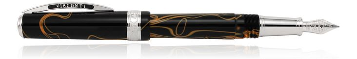 Visconti Manhattan Magma Fountain Pens