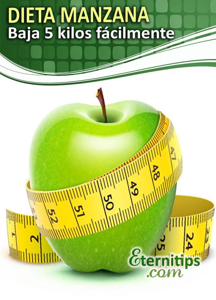 Dieta de la Manzana: PIERDE 5 KILOS FACILÍSIMO | Eternitips