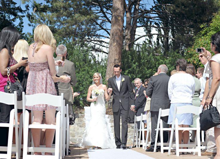 Ceremony at Summerland Ornamental Gardens in Summerland, BC
