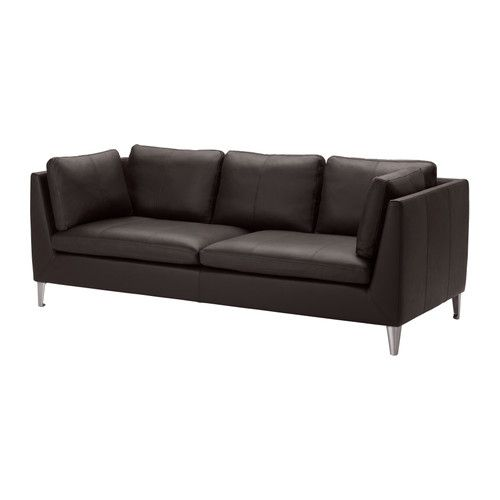 STOCKHOLM Sofa IKEA Highly durable full-grain leather which is soft and has a natural look and feel.