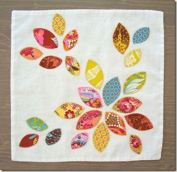 Sewing idea! (Great use for scraps of odd shape or size)