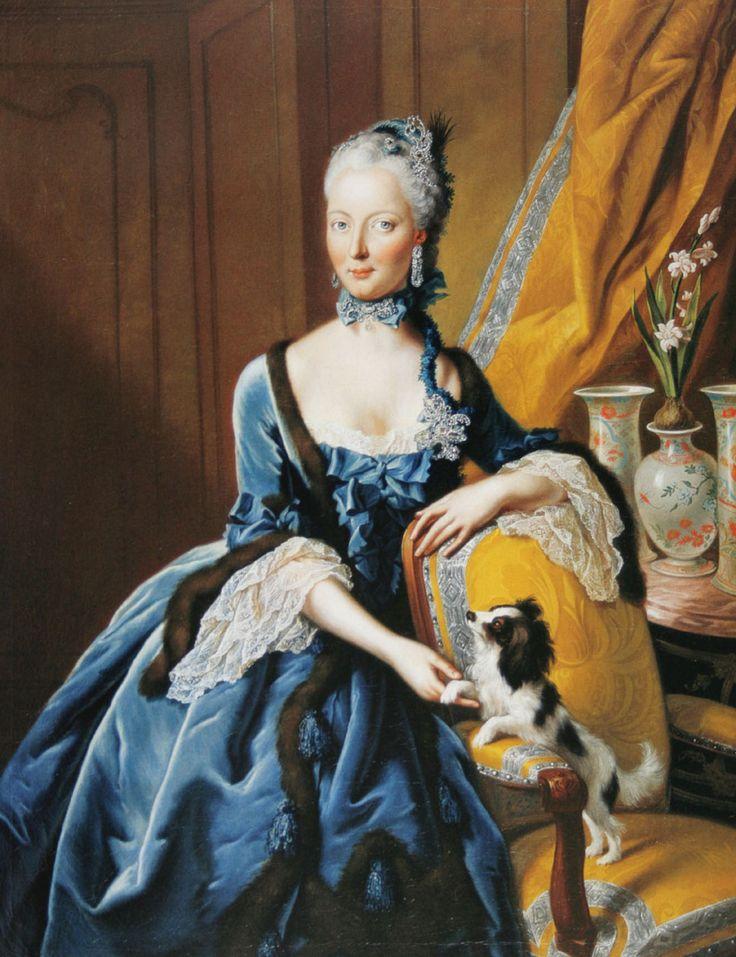 Princess Christine Charlotte of Hesse Kassel by Johann Heinrich Tischbein the Elder (auctioned) | Grand Ladies | gogm