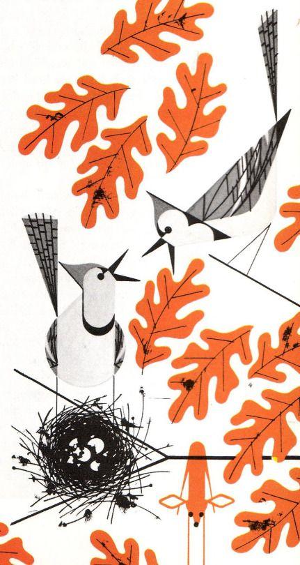 Charley Harper - Mid-Century Modern Graphic Design