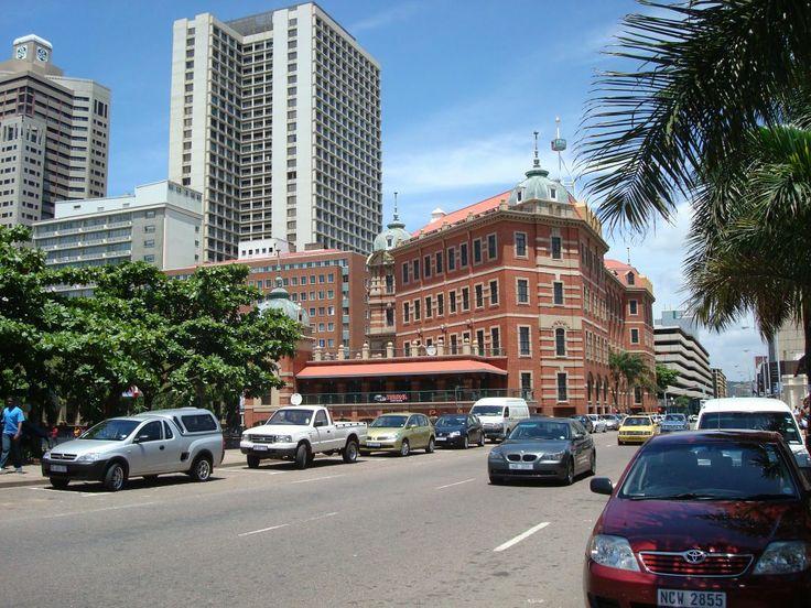 Commercial St.-  Tourist Junction Building, Durban, Sudáfrica.