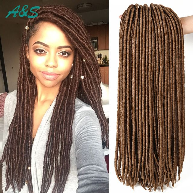 Dreadlocks hair dreadlocks pinterest - 17 Best Images About 18 Quot Faux Locs Crochet Hair Crochet