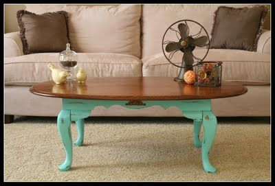 I have a coffee table very similar to this.  I wonder what I should do?