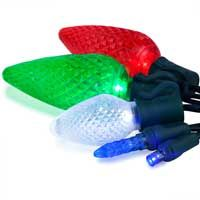many colors in LED Christmas lights