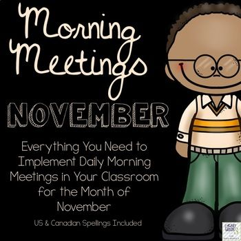 This is the 3rd product of the very popular Morning Meetings. Morning Meetings are the perfect way to start your school day off right, add a sense of community with your group, and build team working skills. This 16 page document provides you with 23 full coloured task cards that are there to guide you through an entire month of Morning Meetings.
