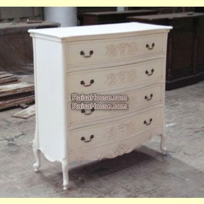 4 Drawers French Chest Refrence : RBS 024 Dimension : 110 x 48 x 112 cm Material : #WoodenMahogany Finishing : #Custom Buy this #Bedside for your #homeluxury, your hotel project, your apartment project, your #officeproject or your #cafeproject with #wholesalefurniture price and 100% #exporterfurniture. This #4DrawersFrenchChest has a #highquality of #AntiqueFurniture #CustomFurniture #FurnitureOnline #ExporterFurniture #SupplierFurniture #JeparaFurniture