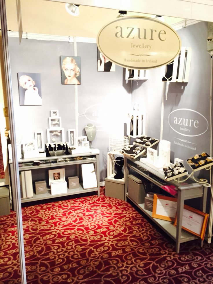 Our stand at the Southern Bridal Fair #azure #weddingfair #cork #culture #handmade #jewellery