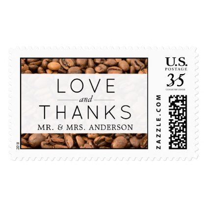 Thank You - Roasted Arabica Coffee Beans - Brown Postage - thank you gifts ideas diy thankyou