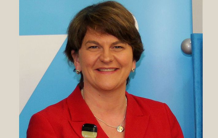 Arlene Foster of the DUP has become Northern Ireland's first ever female First Minister.