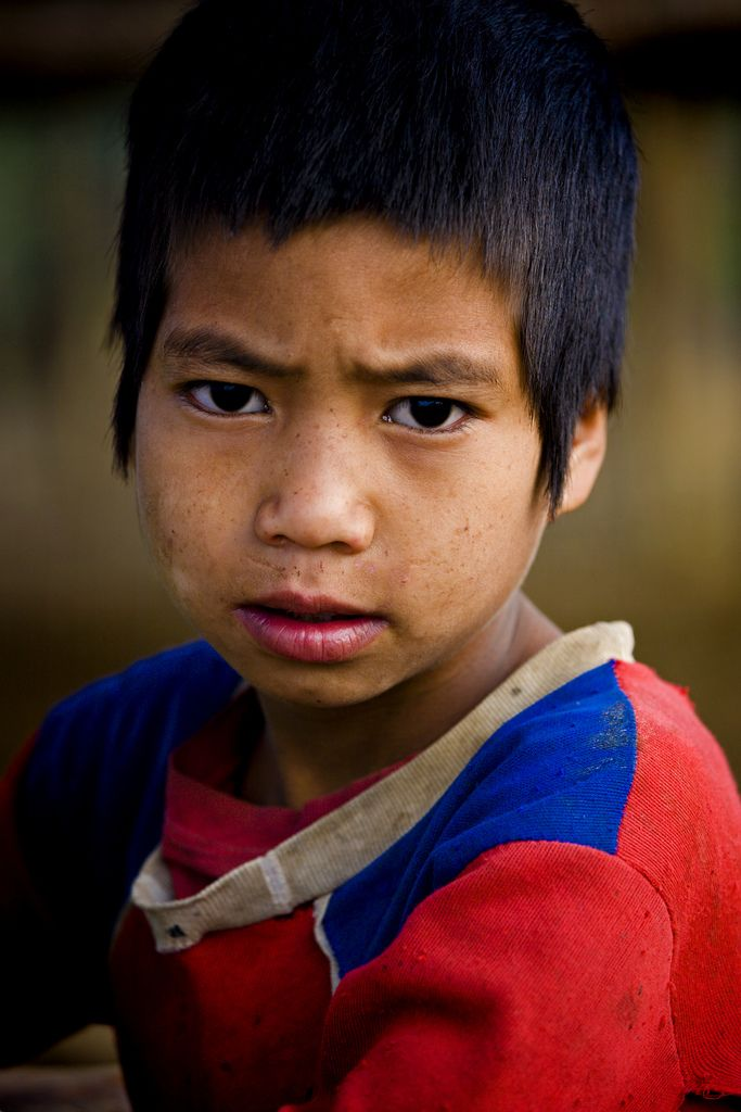 Ahka Boy, Luang Namtha, Laos