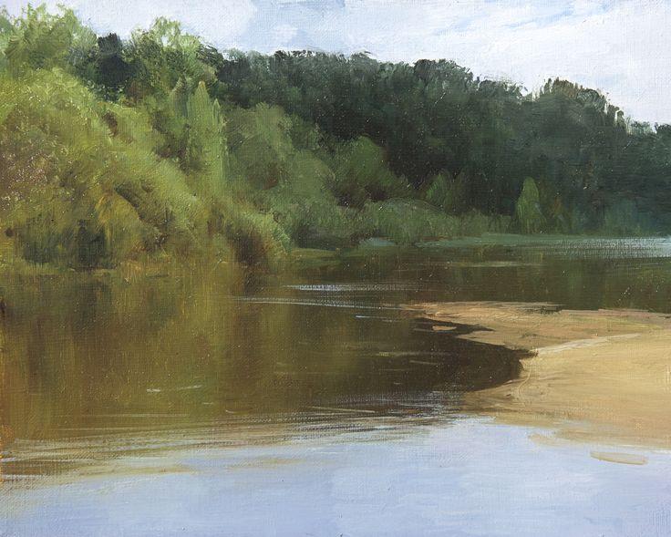 Alexey Alpatov. Oil, canvas, 25x35 cm. 2015.