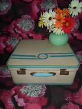 retro luggage in Suitcases | eBay