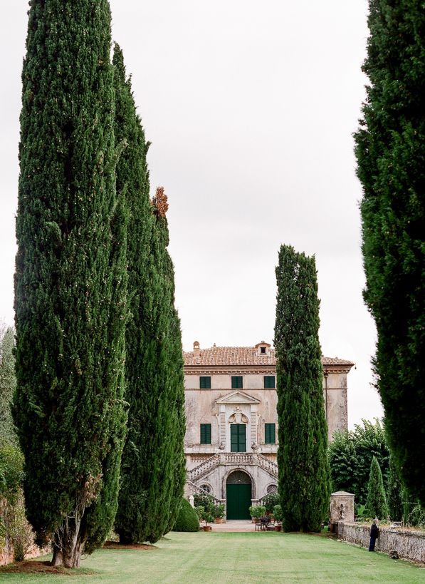 Villa Cetinale - designed by Carlo Fontana. the Ancaiano district near Siena, Tuscany, Italy