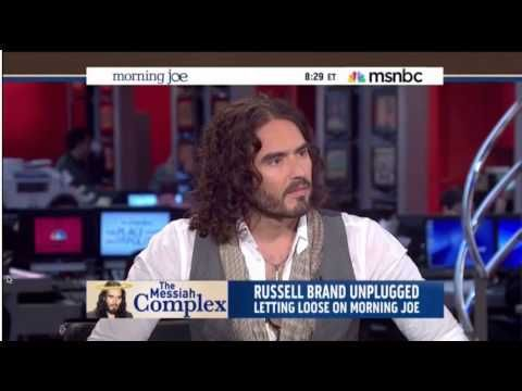 ▶ Russell Brand Absolutely Devastates Mika Brzezinski - Morning Joe - MSNBC - MUST SEE! - YouTube