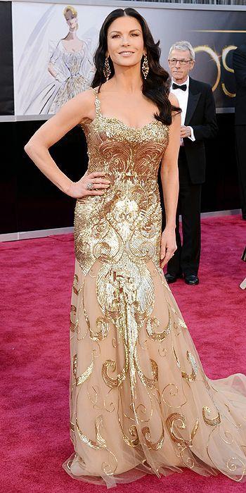 #Catherine Zeta-Jones #85th Academy Awards #Dolby Theatre on Sunday Feb. 24, 2013 Los Angeles.
