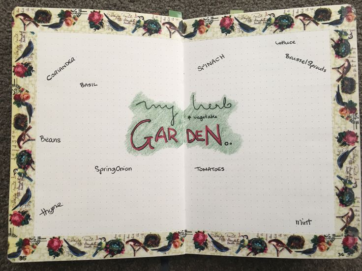 I think next time I I'll do same layout but with listed herbs instead