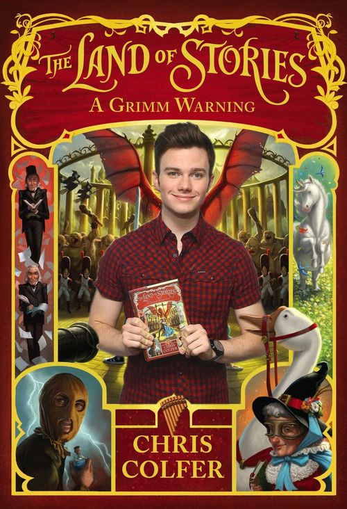 The Land Of Stories: A Grimm Warning - Chris Colfer(July 7th, 2014)