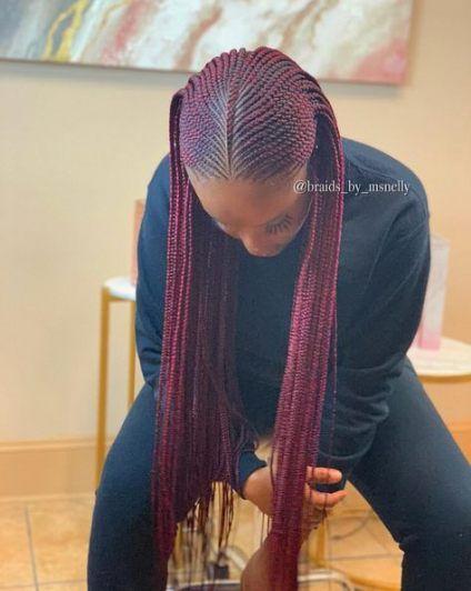 Zöpfe Afroamerikaner Schutzstile schwarze Mädchen 34+ Ideen
