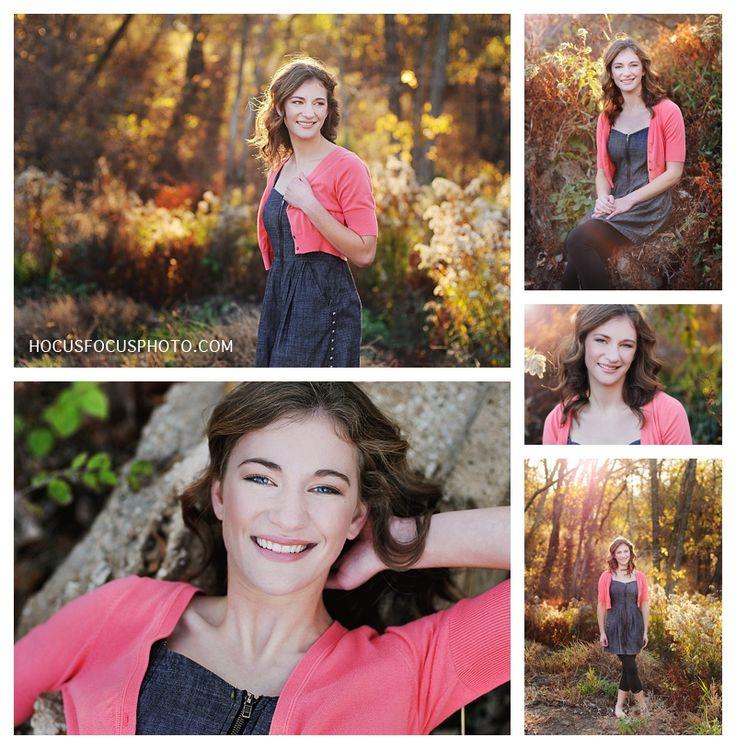 Herbst Senior Porträts von Kansas City Fotograf Heather Morrow von Hocus Focus