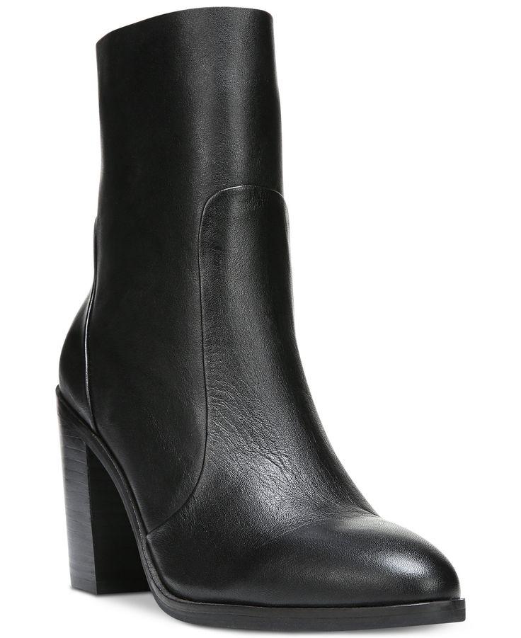 Carlos by Carlos Santana Portia Pointed Block-Heel Boots - Carlos Santana Boots - SLP - Macy's