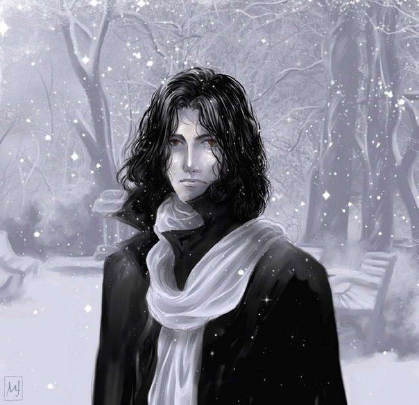 I dont know if thats Snape. For me ot is Snape :)