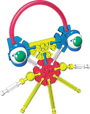 Kid K'NEX Octo (Undersea Pals set)