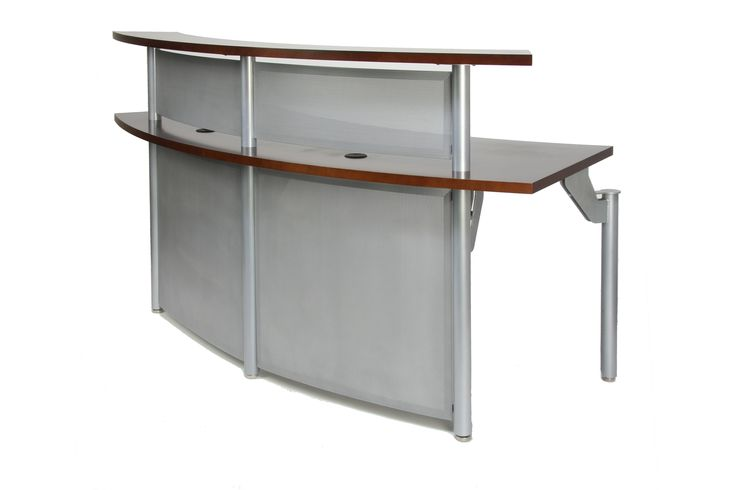 modern industrial style reception desk from the bold companies reception office