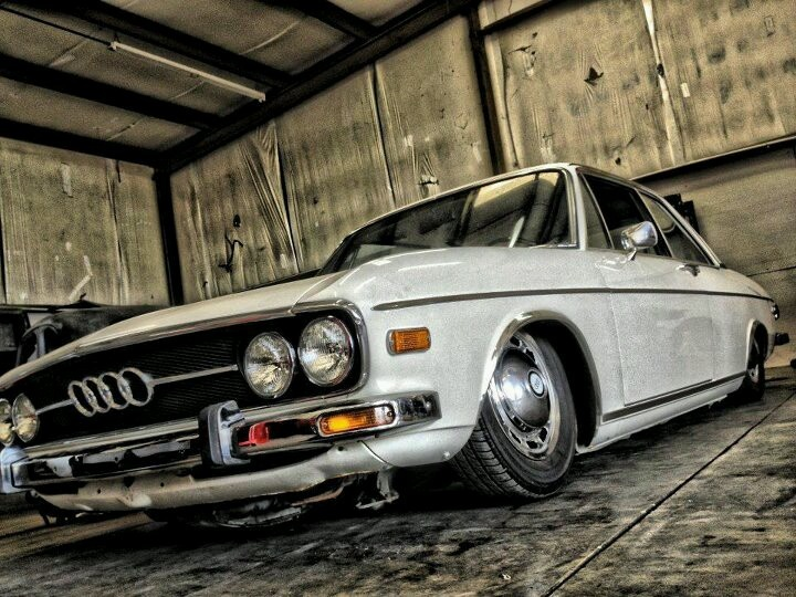 Audi 100: aired out